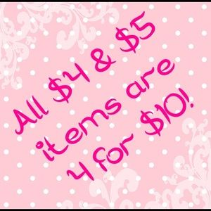 Tops - 4 for $10 sale!
